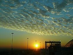 Sonnenuntergang Dubai
